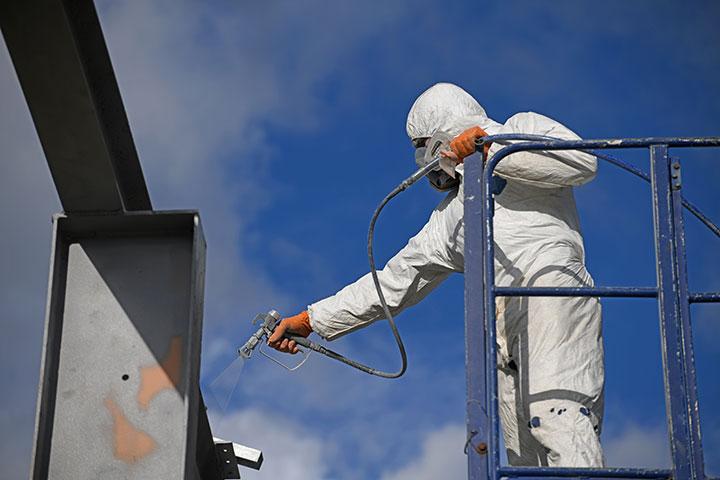 Servicio de pintura industrial